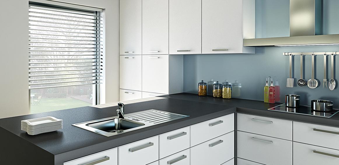 Großartig Weiße Küchenschranktüren Lowes Ideen - Küchenschrank Ideen ...