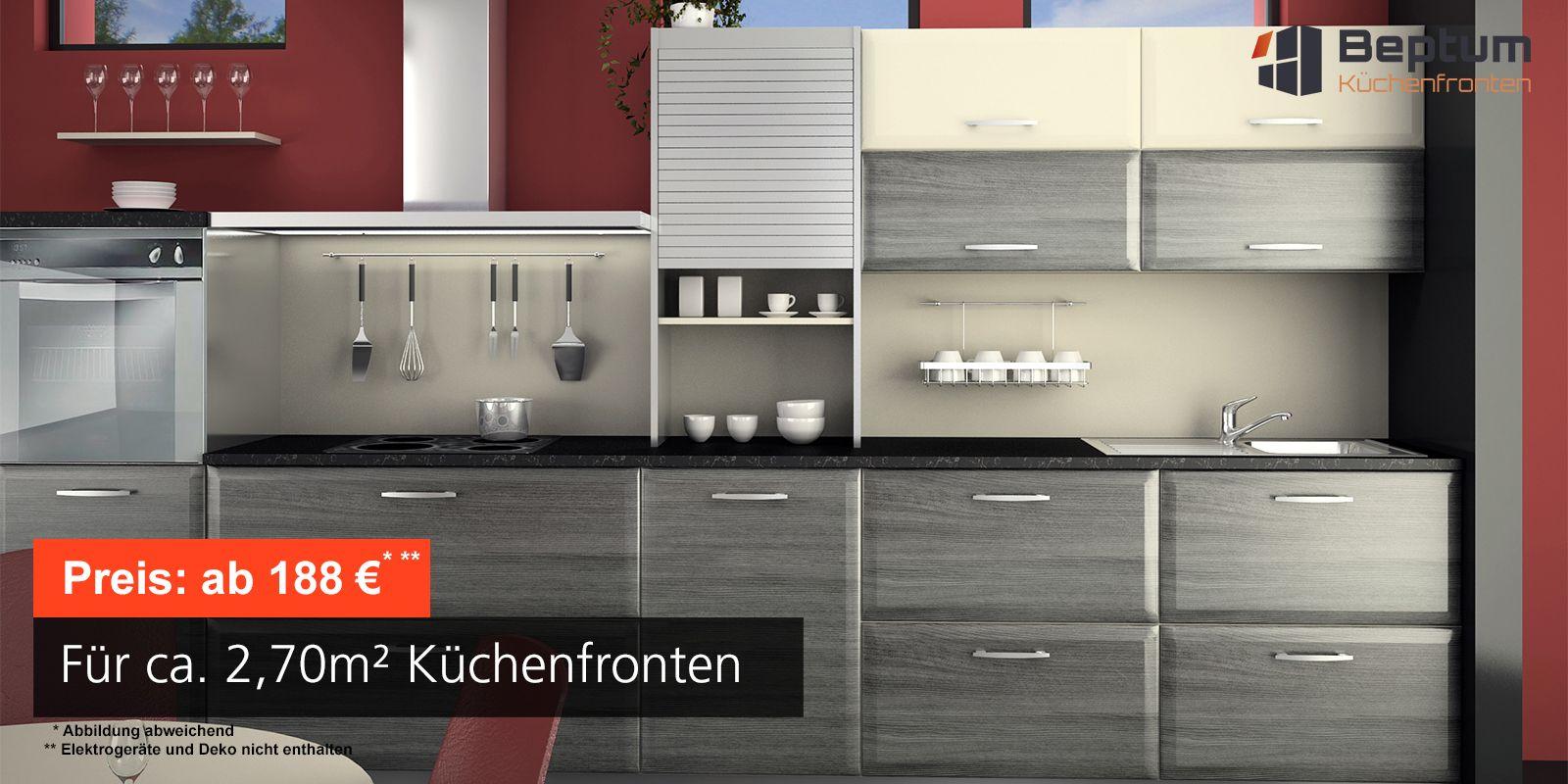 küchenfronten nach maß - direkt vom hersteller beptum