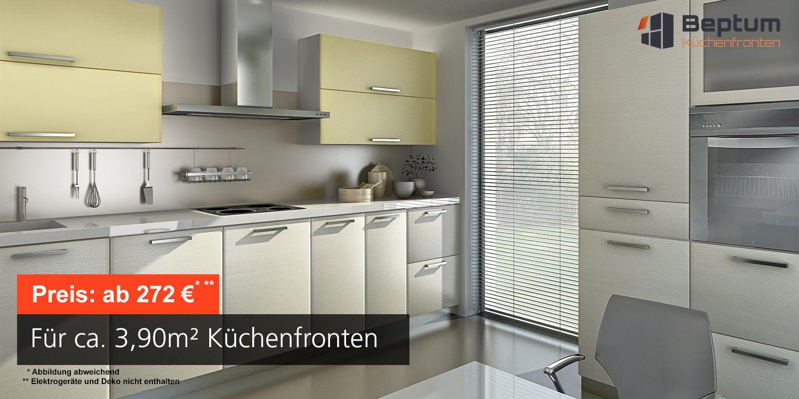 Beliebt Küchenfronten nach Maß - direkt vom Hersteller Beptum PW68